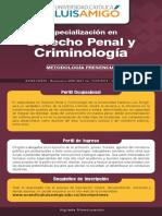 Derecho Penal Criminologia