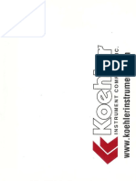 KOEHLER Penetrometro