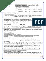 Intro to Phonetics