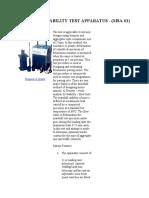 Marshall Stability Test Apparatus