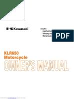 Owners Manual KL650EA