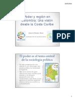 Poder y Region en Colombia. Una Vision Desde La Costa Caribe