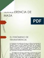 Transferencia-De-masa CLASE 1