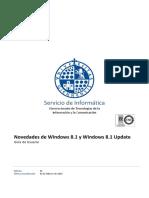 Novedades Windows 8.1 - Guia de Usuario