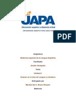 Tarea 2 Didactica Lengua Española (II)