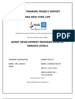 Development of Agent at Max New York