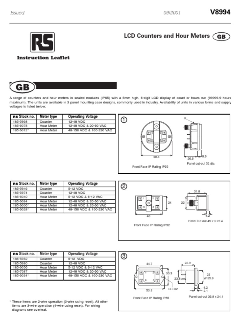 hour meter wiring diagram 0900766 b 800 c 0113 liquid crystal display physical quantities hour meter wiring diagram 0900766 b 800 c 0113 liquid crystal