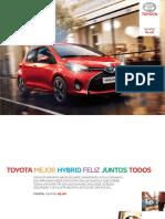 Catalogo Toyota Yaris Noviembre 2016 Tcm 1014 105108