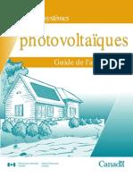 Systmes Photovoltaques - Guide de Lacheteur