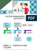 Sistem Manajemen Data Mutu