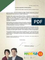 Documento Carta Aos Servidores Públicos