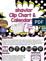 Polkadot Behavior Clip Chart Freebie