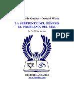 Wirth Oswald La Serpiente Del Genesis El Problema Del Mal.pdf