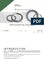 WCB Excavator Spare Parts Slewing Bearing Slewing Circle Slewing Ring