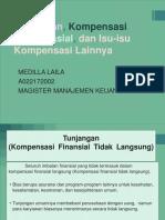 Tunjangan, Kompensasi Nonfinansial, Dan Isu-Isu Kompensasi