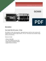 Prosilica_GC_DataSheet_GC655_v2.0
