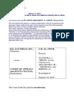Jurisprudence - Accion Publiciana