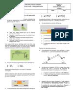 Evaluacion Final Fisica Tercer Periiodo 10a