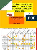 1ra Clase de Arcilla- 2014