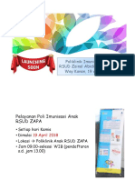 Launching Poli Imunisasi By dr. A. Rafly Sp.A