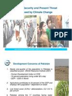 Climate Change- Food Security and Pakistan- Saadullah Ayaz