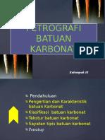 PETROGRAFI BATUAN KARBONAT.pptx