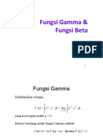 Fungsi Gamma Beta