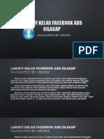 Laris!!! Kelas Facebook Ads Cilacap, 08112829002