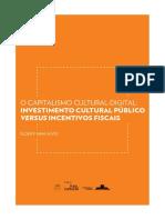 ALVES - Investimento Publico e Incentivo Fiscal Na Cultura, Itau Cultural (Grifado)