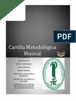 CARTILLA METODOLÓGICA MUSICAL