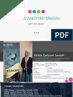 CV Khilda Zakiyyah Saadah