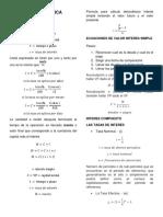 Formulario - Costos Formulas