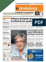 El Banco de España da por perdida  la mitad de las ayudas a CCM