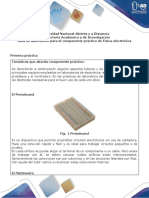 Guía de laboratorio para el desarrollo del componente práctico fisica electronica