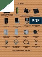 Lista de Precios Partes Consola Sonika