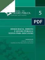 Vol 5 Textos Para Discussao Ciclo de Debates