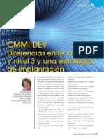 CMMI DEV.Diferencias entre el nivel 2 y el nivel 3, y una estrategia de implantacion.2010.pdf