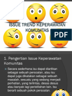 82512997 MAKALAH Trend Issue Keperawatan Komunitas