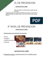 4° NIVEL DE PREVENCION