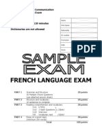 FRENCH Sample - 2006