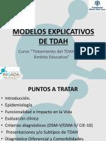 MODELOS EXPLICATIVOS TDAH