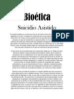 suicidio asistido bioetica