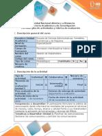 Guía de Actividades y Rúbrica de Evaluación - Paso 4 - Proponer El Plan de Gestión de Las Comunicaciones Al Proyecto
