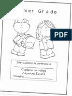 Cuaderno de Trabajo Español Primer Grado Primaria.pdf
