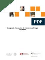 Guía para la Elaboración de Proyectos de Energía Sustentable