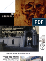 Ciencias Forenses en Honduras