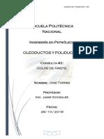 Jose Torres - Consulta #2- Golpe de Ariete
