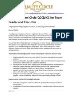 Program Outline QCC ICC