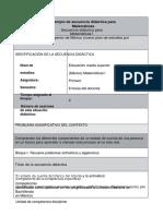 Secuencias Didacticas - Aprendizaje y Eva-Tobón