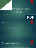 Extraccion Solido-liquido de La o
